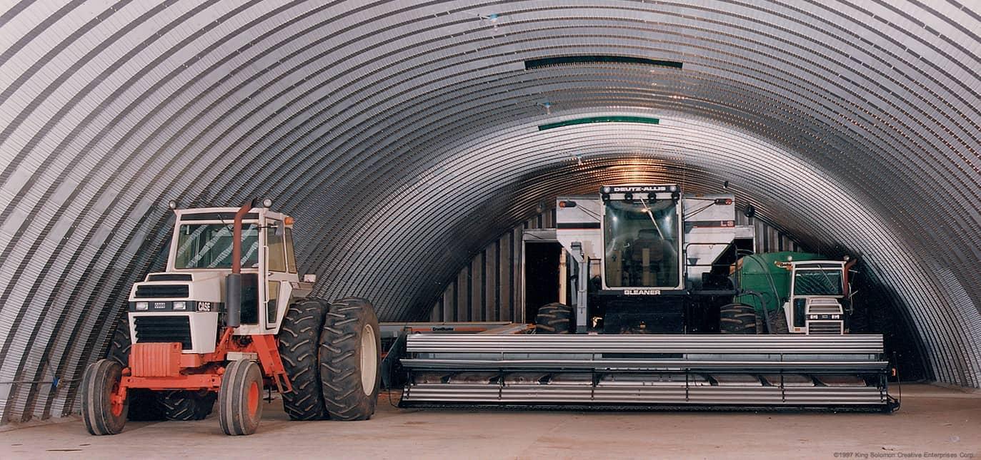 Metal Tractor Barns : Pole barn kits farm buildings